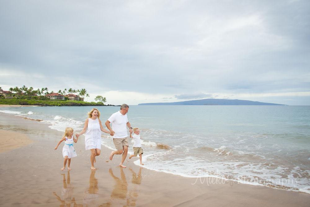 Maui Family Beach Photo - Grand Wailea