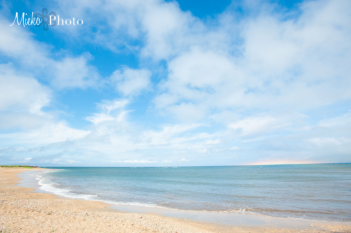 Maui Photographer – Mieko Photography – Rainbow 9 am in April 7th, 2014