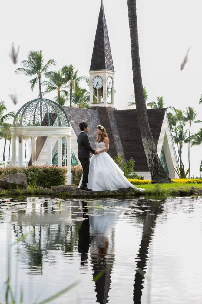 Grand Wailea Wedding Photographer - Mieko Photography
