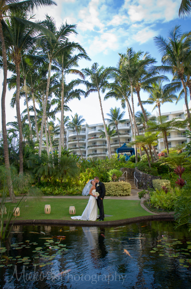 Fairmont Kea Lani Wedding by Mieko Photography