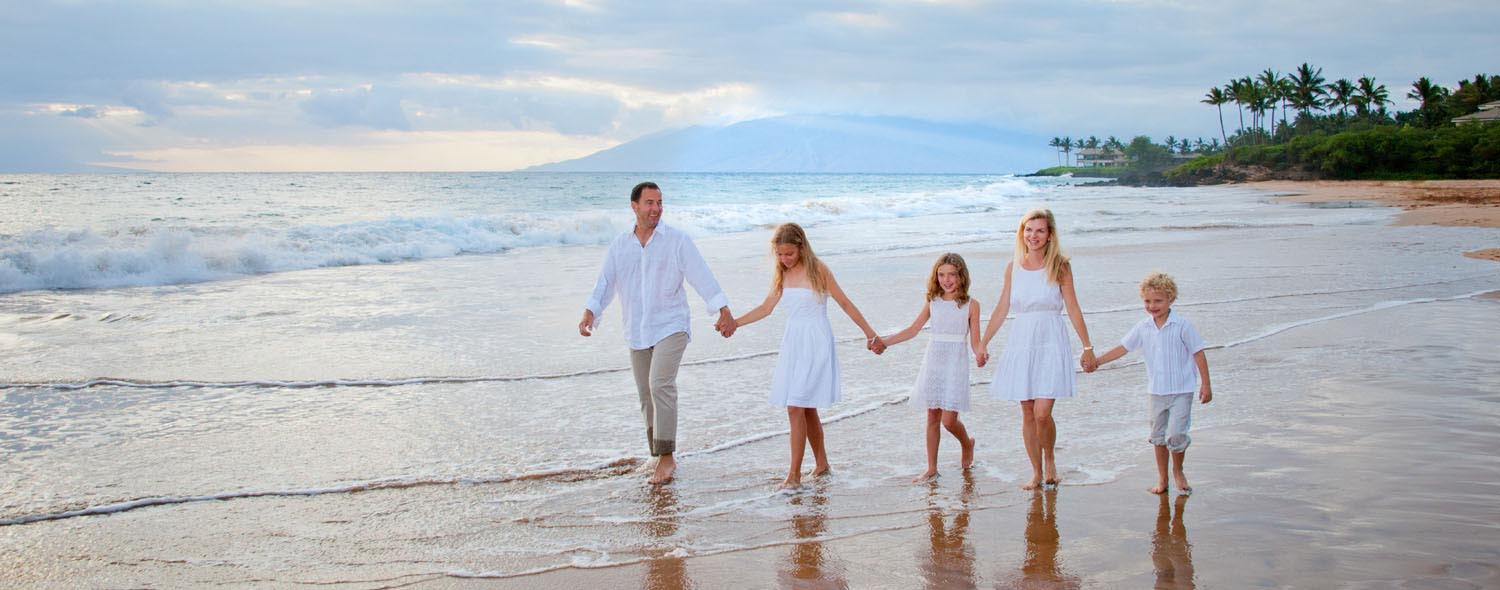 Makena Family Beach Portrait Album